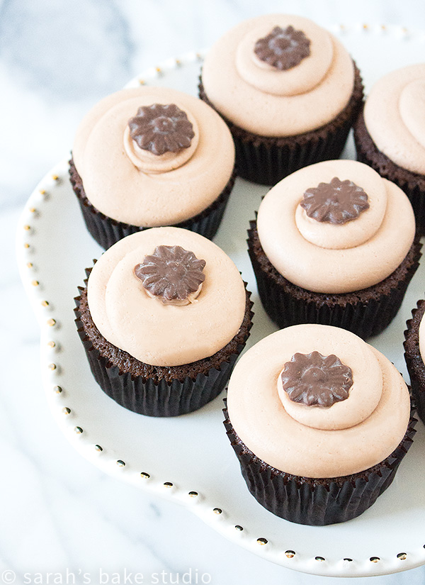 2016 Year in Review: Most Popular Recipes - Chocolate Cupcakes with Chocolate Cream Cheese Frosting