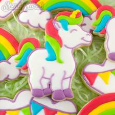 How to Make Unicorn Cookies from Semi Sweet Designs