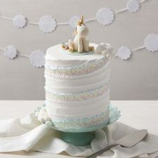 Whimsical Unicorn Cake from Wilton