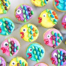 How to Make Fish Mini Cupcakes {Video Tutorial}