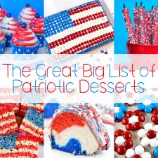 The Great Big List of Patriotic Desserts