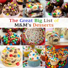 The Great Big List of M&M's Desserts