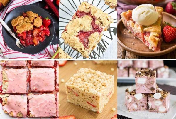 The Great Big List of Strawberry Desserts - a great big list of 160+ deliciously refreshing strawberry desserts.