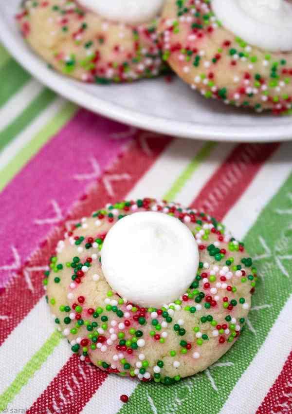 Buttercream Thumbprint Sugar Cookies