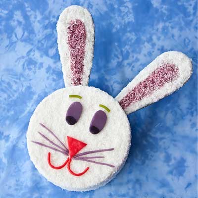 Easter Bunny Cake from Cake Whiz