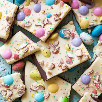 Easter Bunny Bark from Sally's Baking Addiction