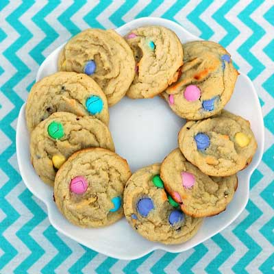 Easter Candy Cookies from The Redhead Baker