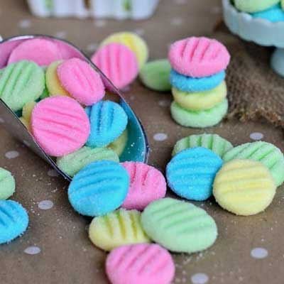 Pastel Mint Patties from Mom On Timeout