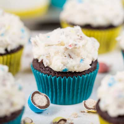 Easy Whopper Egg Cupcakes from Your Cup of Cake