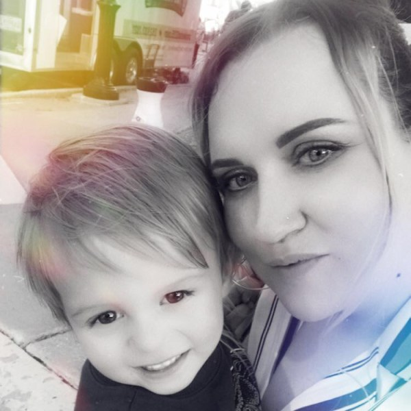Birthday Buds - My Sister and Our Nephew.