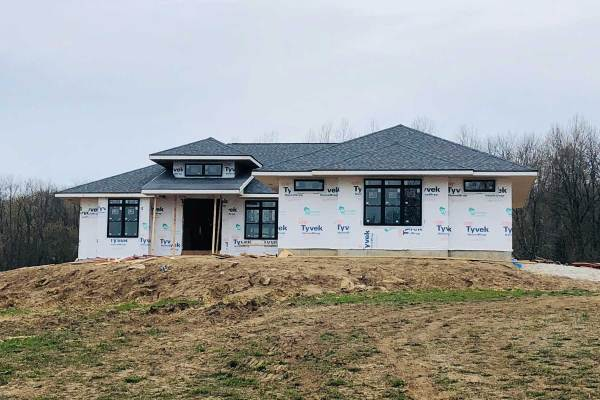 Life Is Sweet May 2019 - Progress on the Front of Our House.