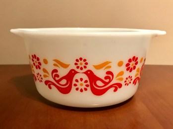 Friendship casserole #473, 1970s