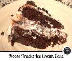 Moose tracks ice cream cake