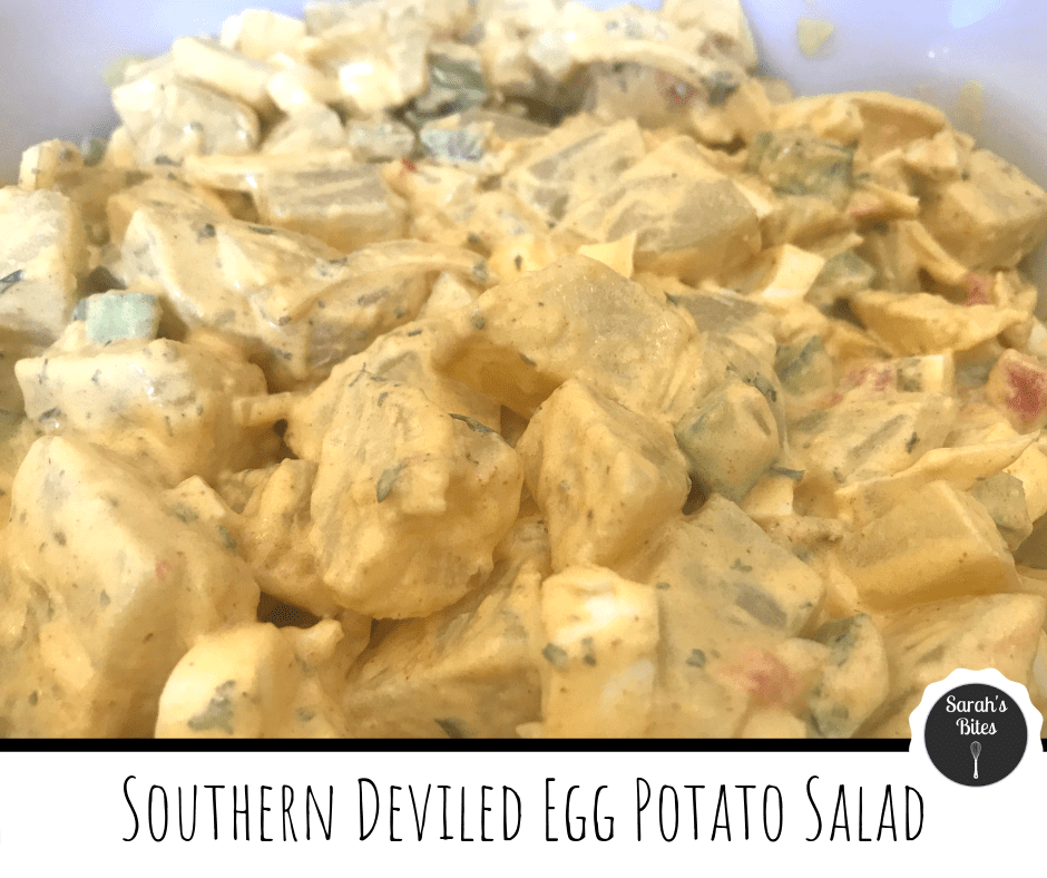 Southern Deviled Egg Potato Salad