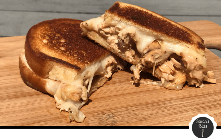 BBQ Chicken Salad Melt (sandwich)