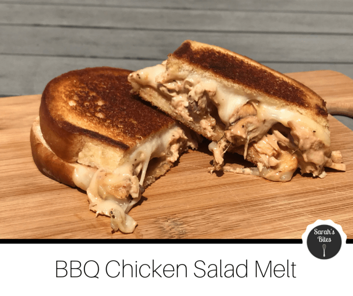 BBQ Chicken Salad Melt (sandwich)