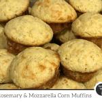 Rosemary & mozzarella corn muffins