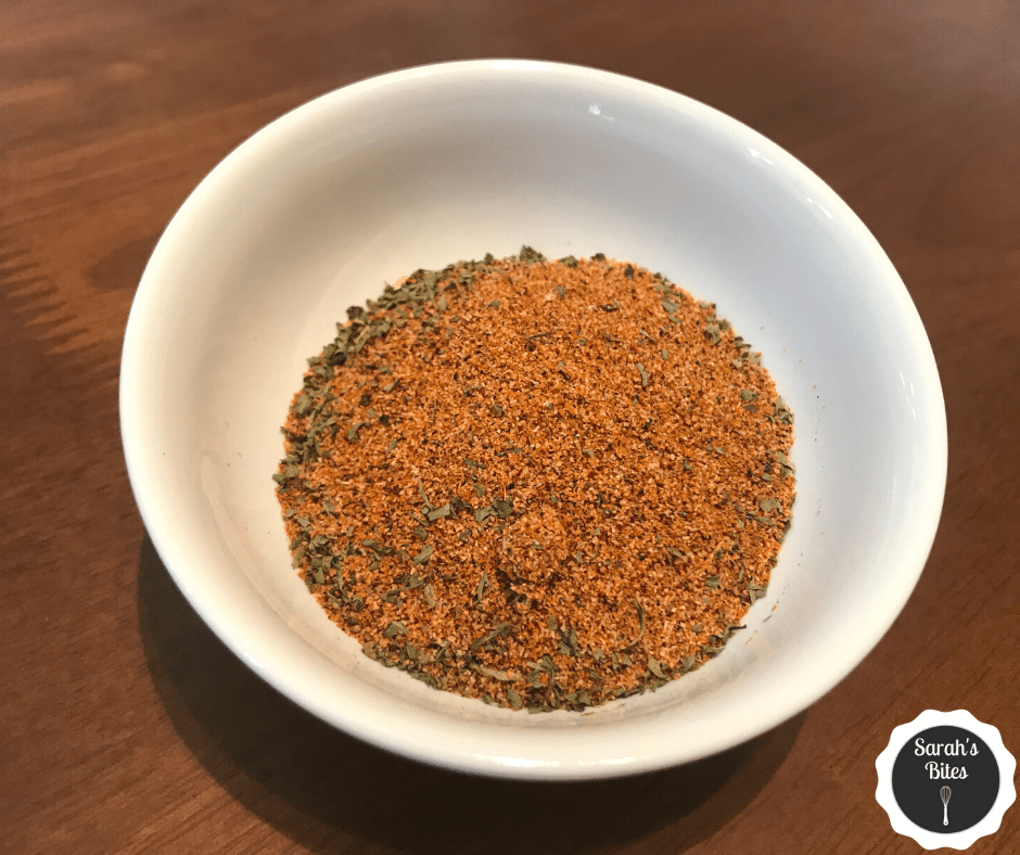 Bowl of taco seasoning