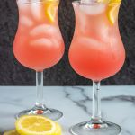 Cranberry grapefruit fizz