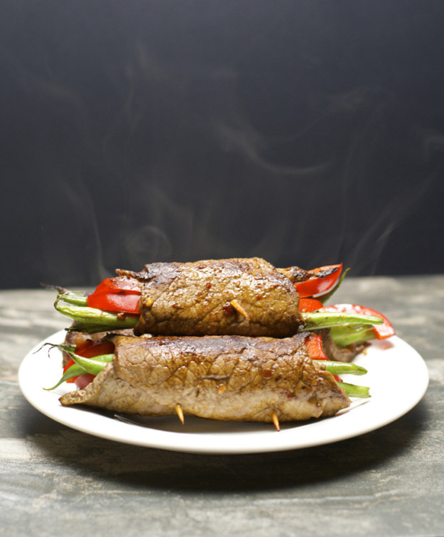 Italian Steak Rolls