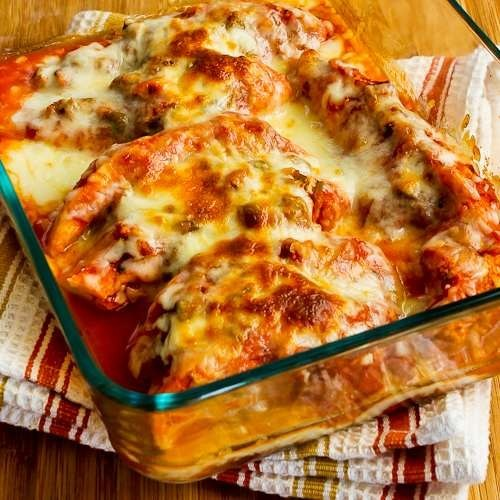 alsa Chicken with Lime and Melted Mozzarella