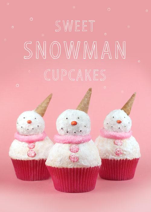 sweet-snowman-cupcakes