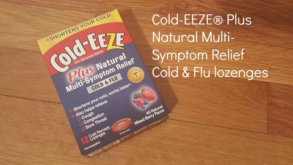 Cold-EEZE® Plus Natural Multi-Symptom Relief Cold & Flu lozenges