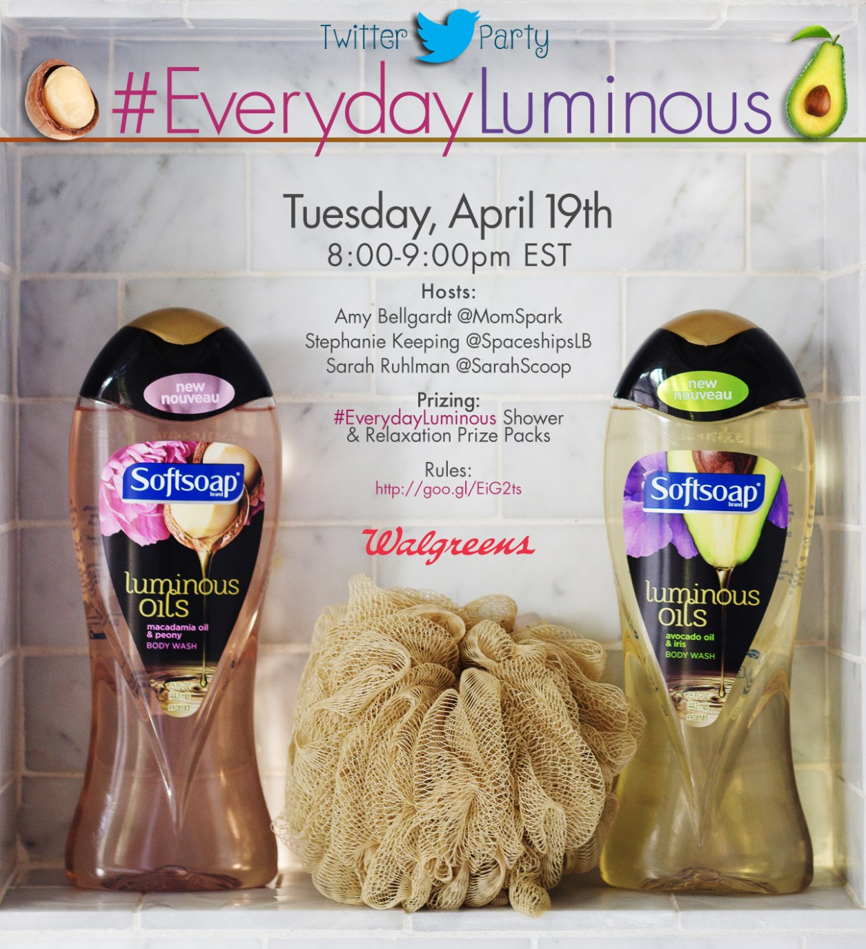 SOFTSOAP Twitter party invite