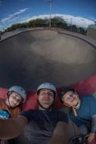 The boys finally get to skate!