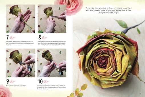 Wood Rose section of Nature Art Workbook