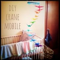 DIY Crane Mobile