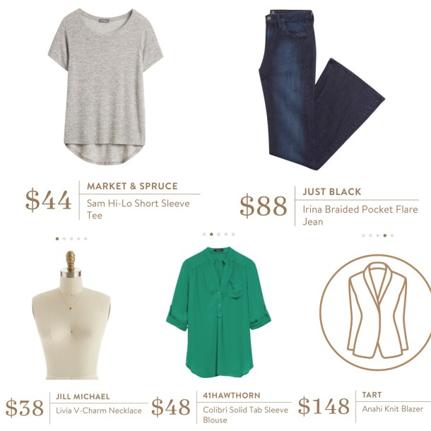 March Stitch Fix Review outfit set