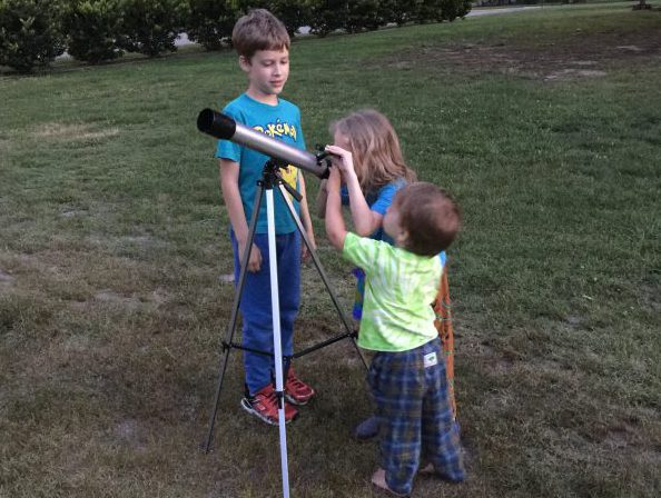 Star gazing kids A multifaceted Mama