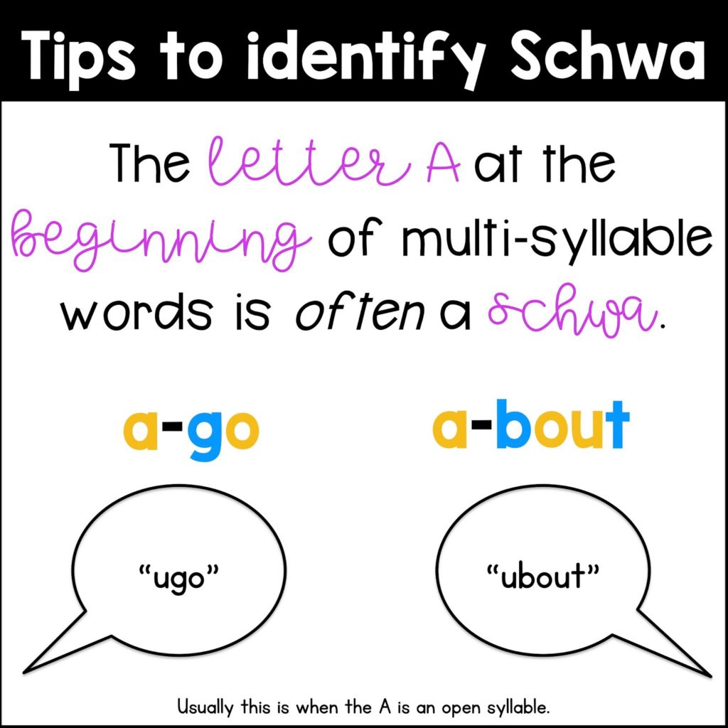 What Is The Schwa