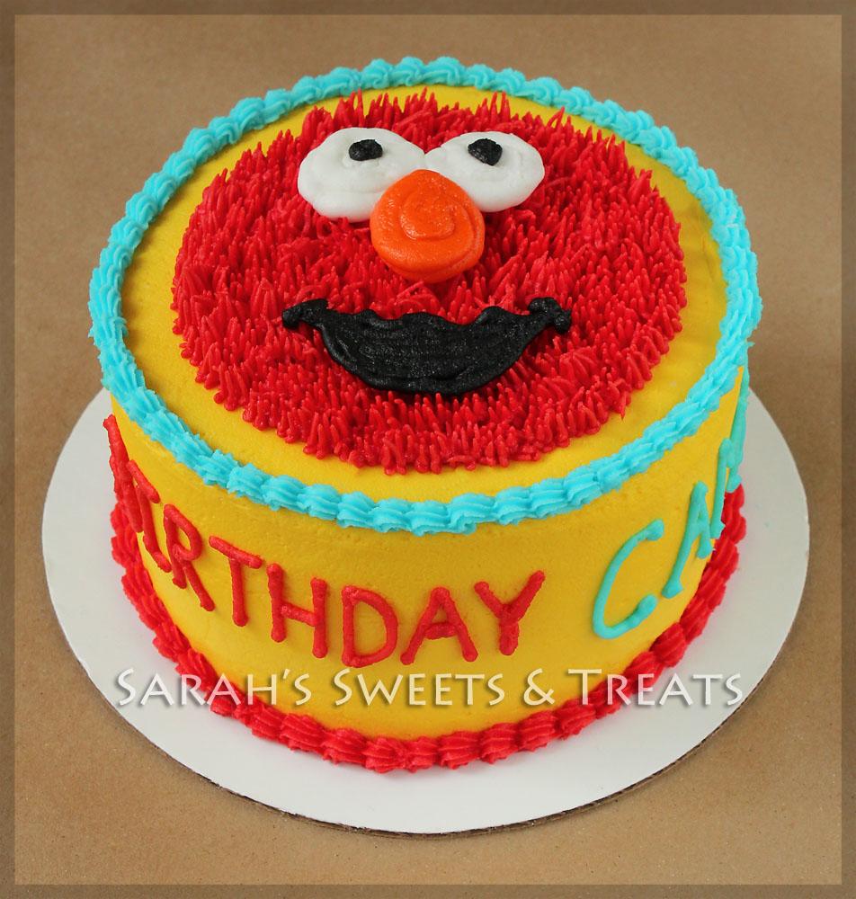 Elmo Birthday Party Cake Sarah S Sweets Amp Treats