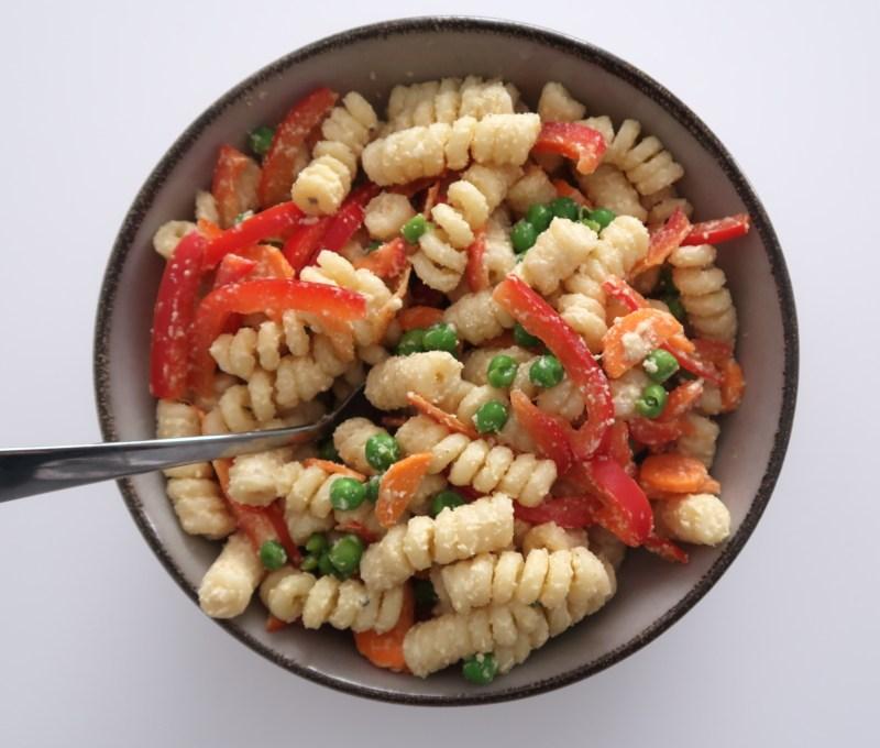 Oil-free Vegan Pasta Salad