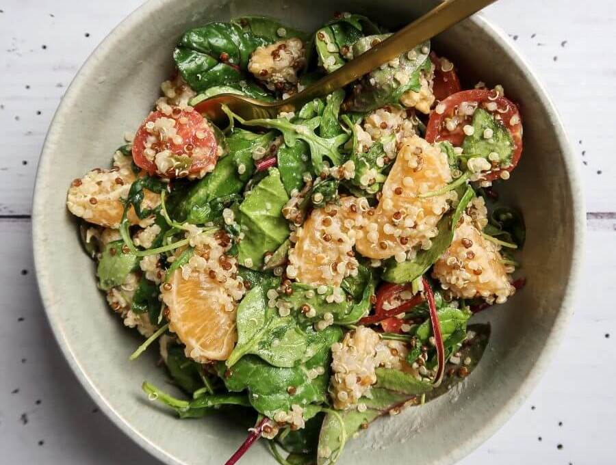 Vegan Citrus Quinoa Salad