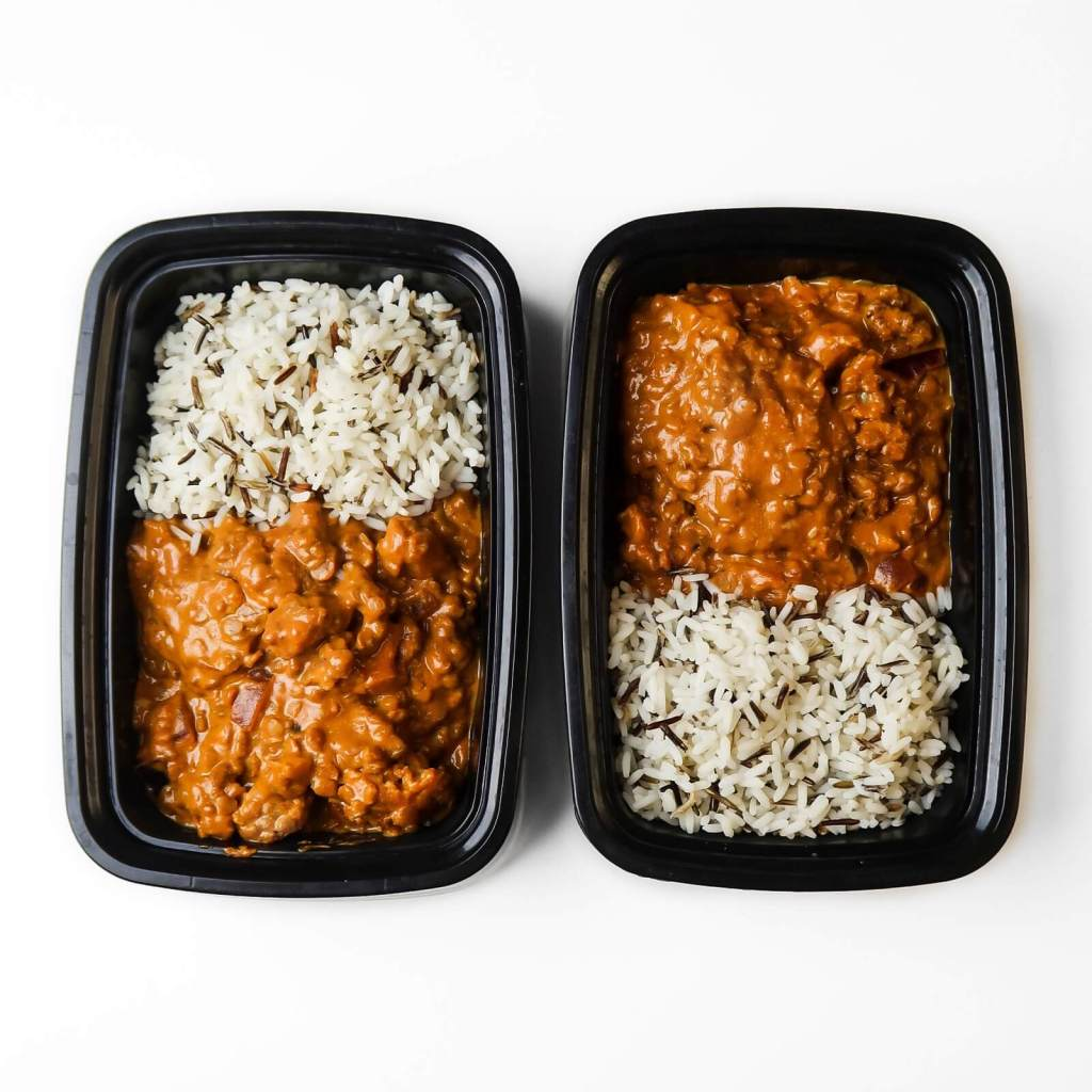 vegan lentil cauliflower curry