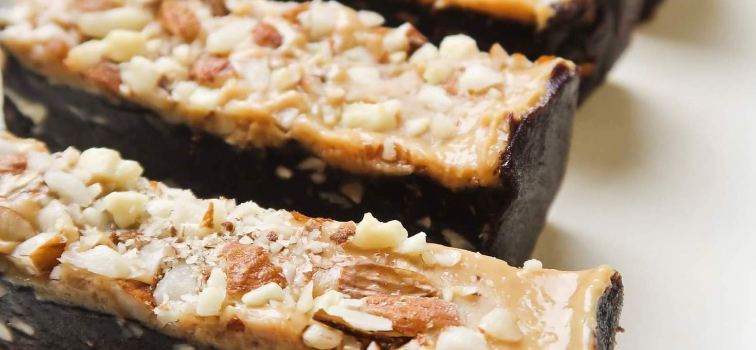 5-Ingredient Brownie Peanut Butter Bars