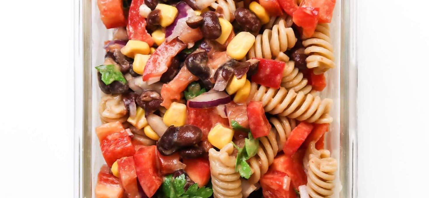 Healthy Vegan Taco Salad Great For Meal Prep