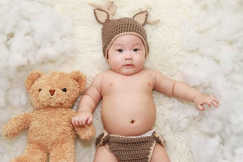 adorable baby beanie bonnet