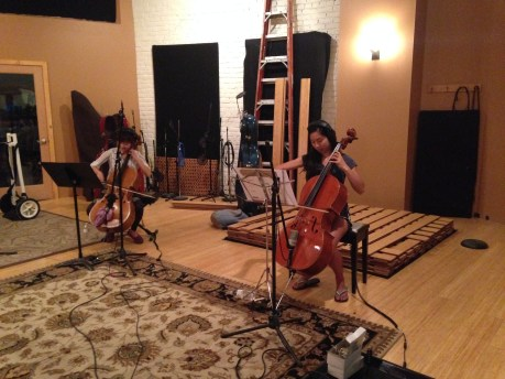studio crash - strings VI