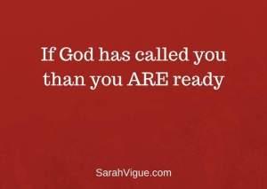 God Calls Sarah Vigue