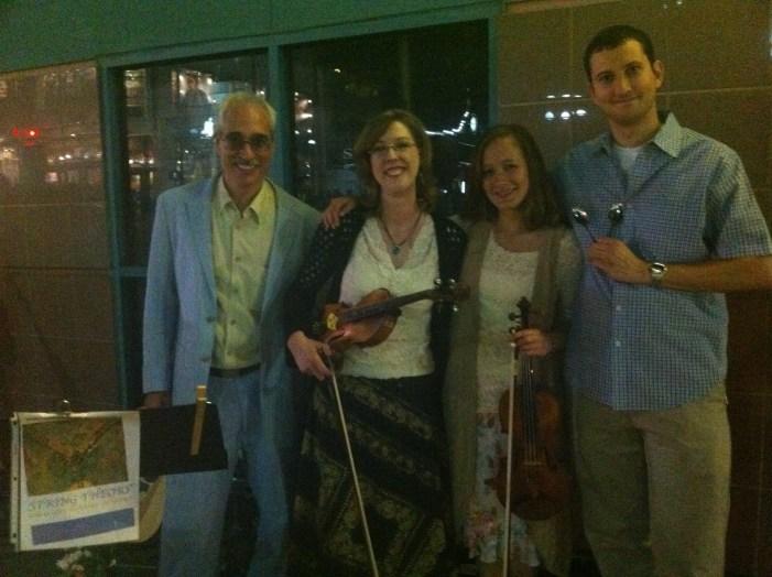 String Theory (l to r): Ken, Sarah, Danielle, Keith