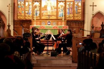 Hill Street Quartet Performs Beethoven and Dvorak