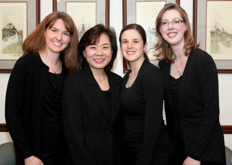 Hill Street Quartet: Anne Sherrill (cello), Irene Shiao (violin), Rachel Fabulich (viola), Sarah Wallin Huff (violin)