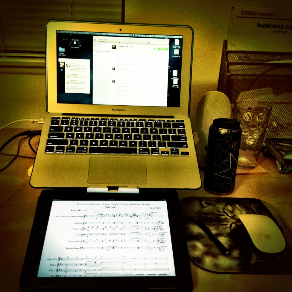 My work station... Ready to go! :p