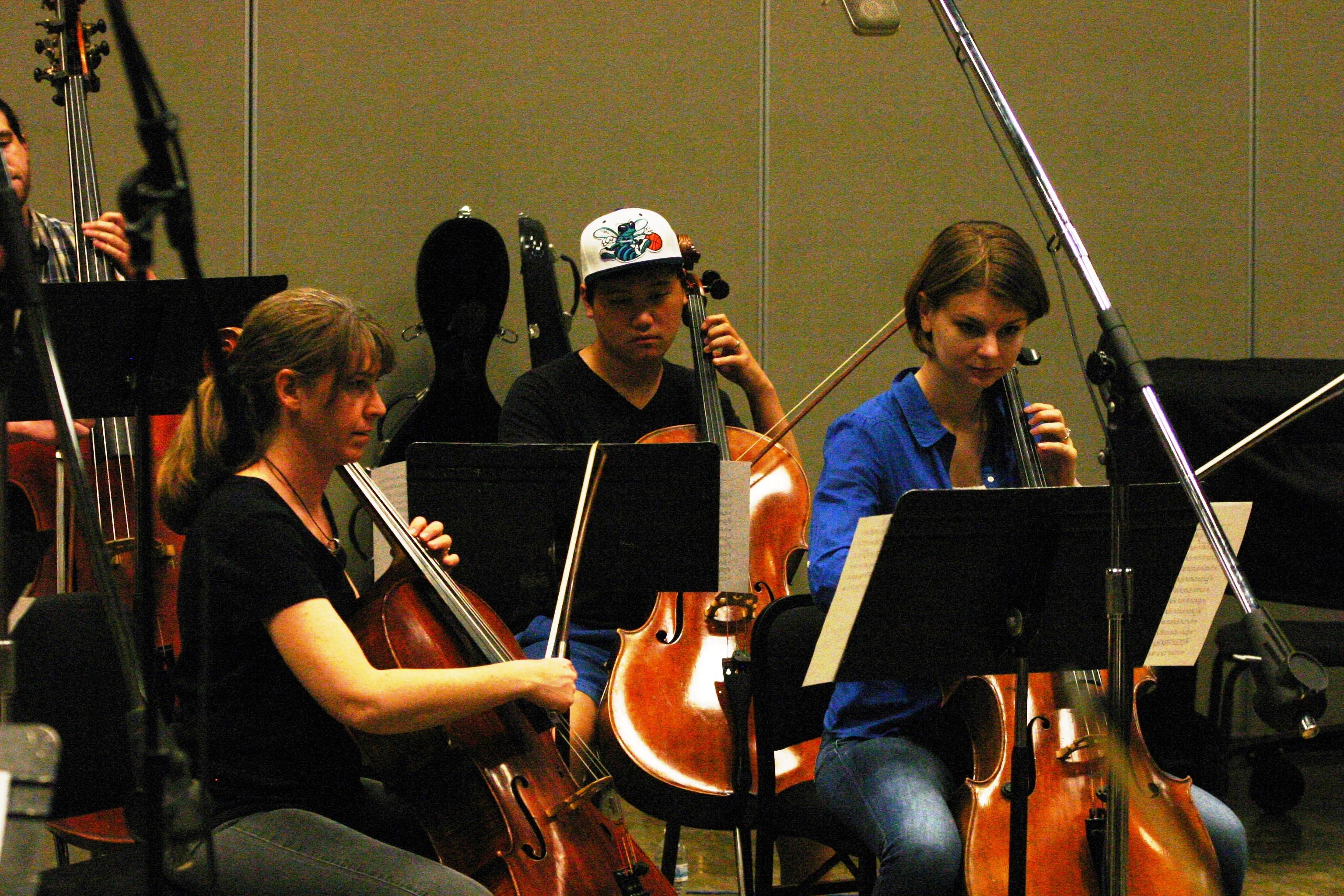The cellos