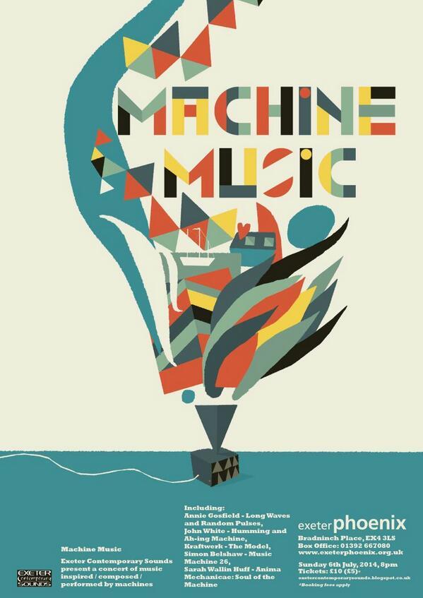7.6.2014_Machine Music poster