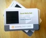 SONATA MODERNA Download cards
